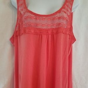 Old Navy women's coral tank top